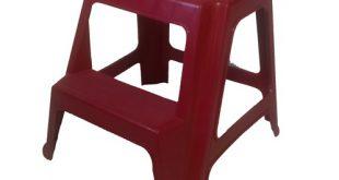 انواع چهارپایه پلاستیکی دو پله