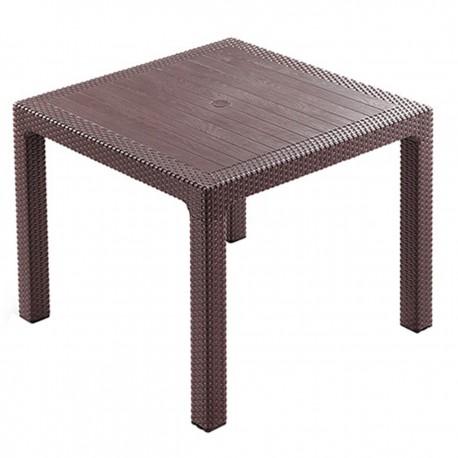 میز عسلی پلاستیکی طرح چوب