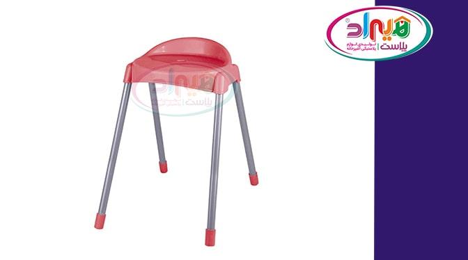 چهارپایه پلاستیکی بلند