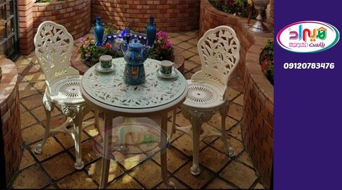 میز صندلی پلاستیکی جدید